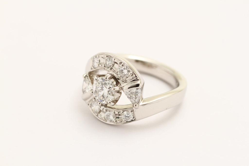 ダイヤリフォームの指輪ですが