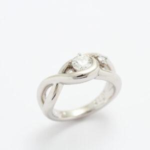 素敵な指輪の完成です!