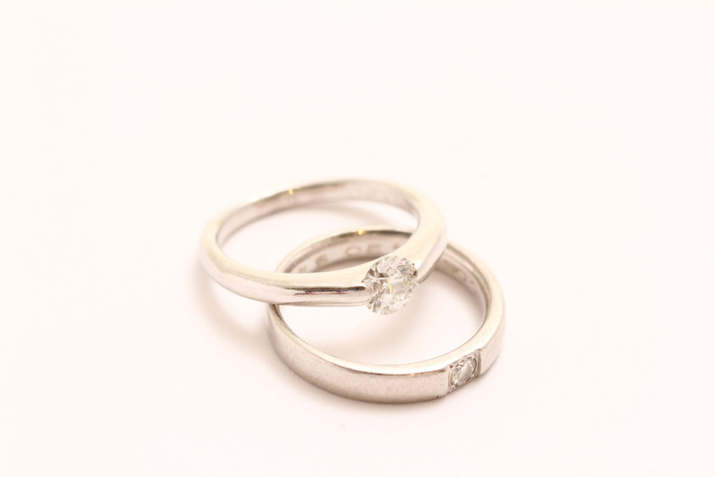 お持込みの指輪です!