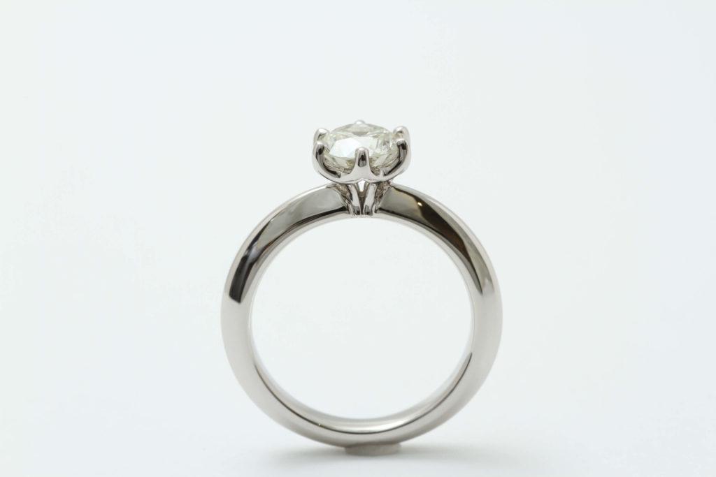 継承ご婚約指輪の完成です!