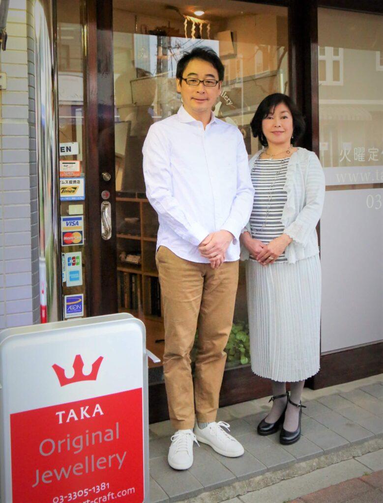 ジュエリーTAKAスタッフ TAKA&乙未