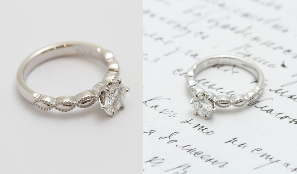 ミルデザイン婚約指輪