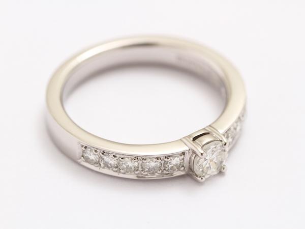 ダイアモンド 指輪リフォーム 完成