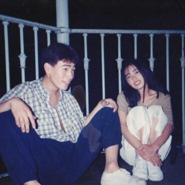 10代の頃のTAKAとデザイナー乙未 海外研修