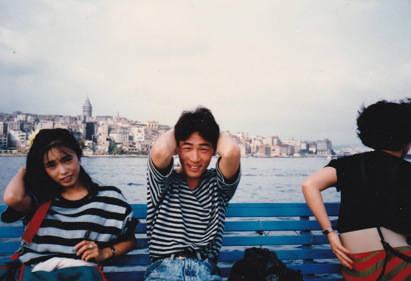 10代の頃のTAKA 海外研修