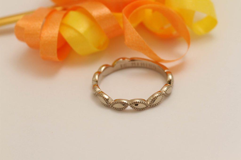オリジナルデザインの指輪です!