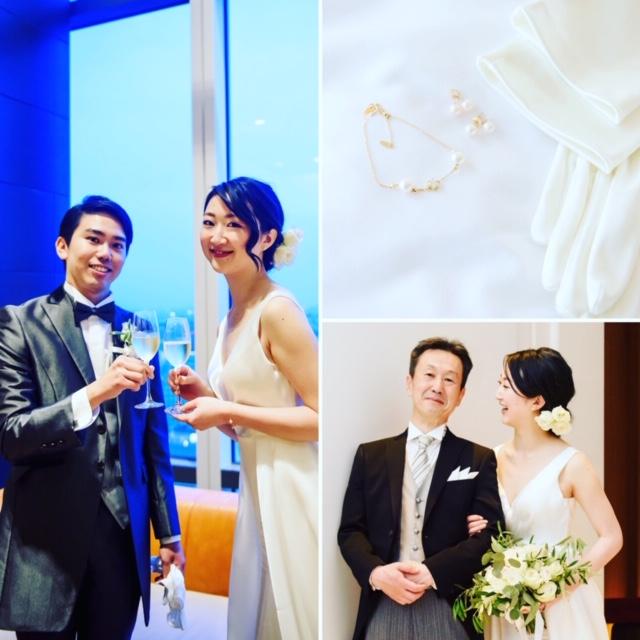 結婚式当日のお写真です!