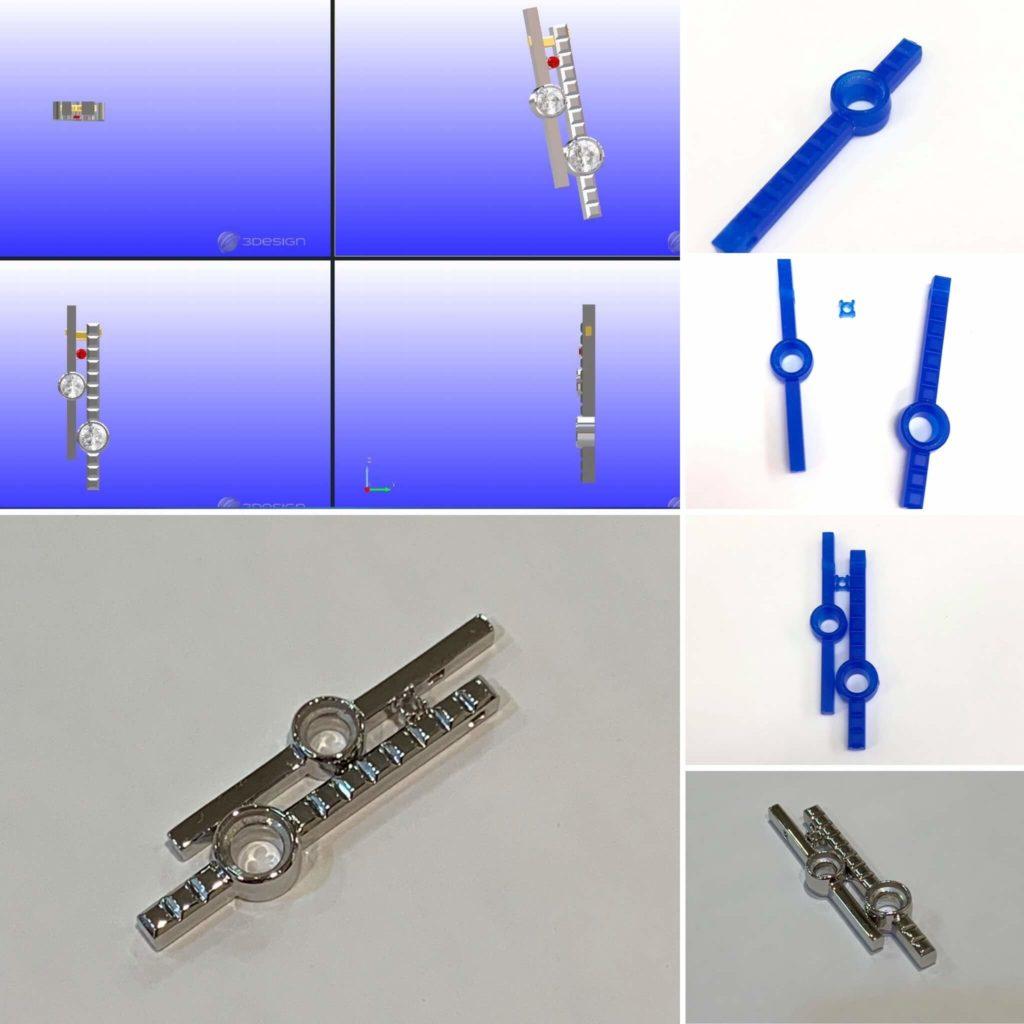 ネックレスの制作工程