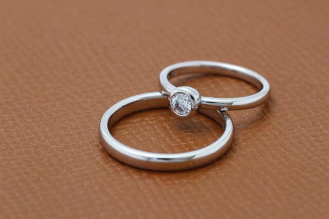 オーダーメイドの結婚指輪が完成!
