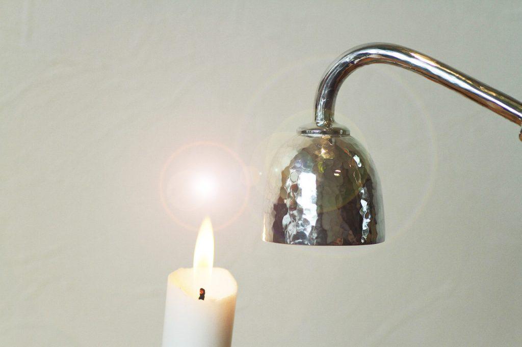ジュエリーTAKAが製作したプレミアムオーダージュエリー 銀製ロウソク消し