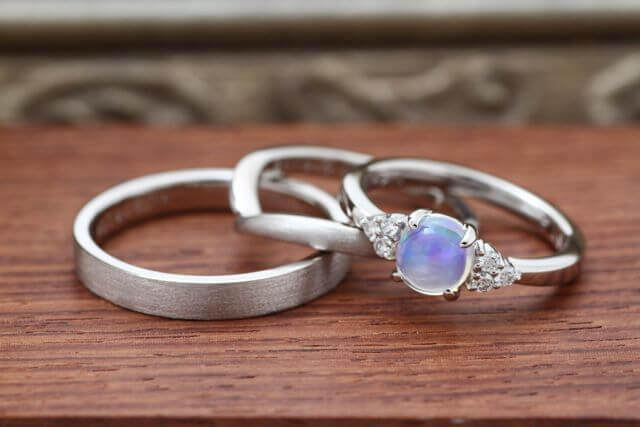 オーダーメイド婚約結婚指環