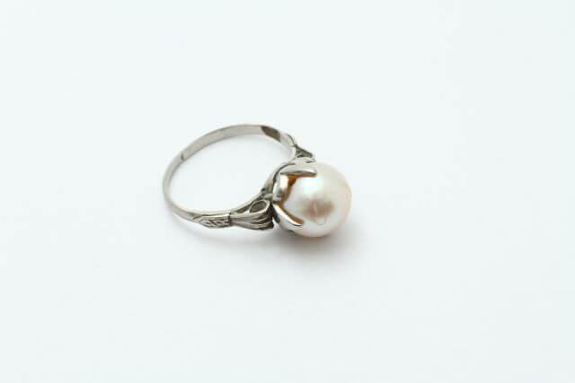 リフォーム前の真珠指輪