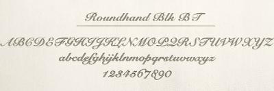 Round handのレーザー刻印サンプル