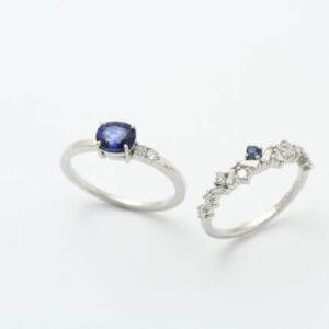 サファイヤの指輪が完成しました