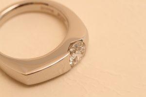 プラチナダイヤモンドの指輪リフォーム