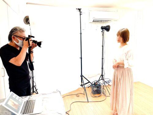 プロカメラマンによるヤングモデル撮影